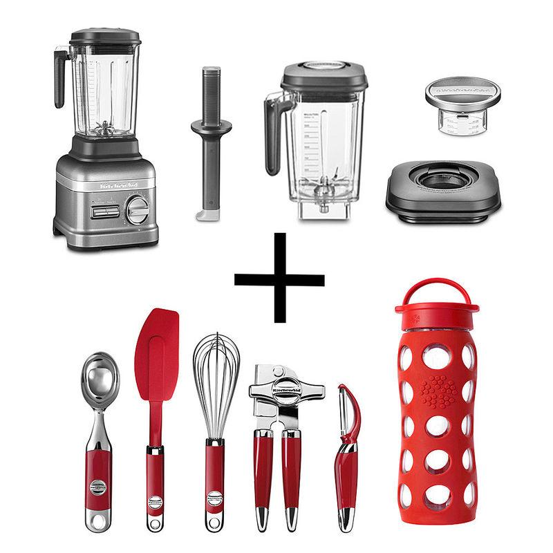 aktion kitchenaid standmixer mit 6 tlg zubeh r p riert pulverfein erhitzt suppen hagen. Black Bedroom Furniture Sets. Home Design Ideas