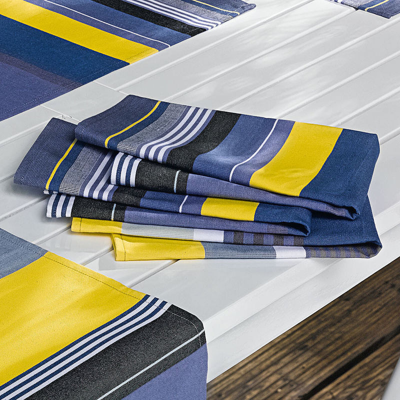servietten exquisite franz sische sommer tischw sche. Black Bedroom Furniture Sets. Home Design Ideas