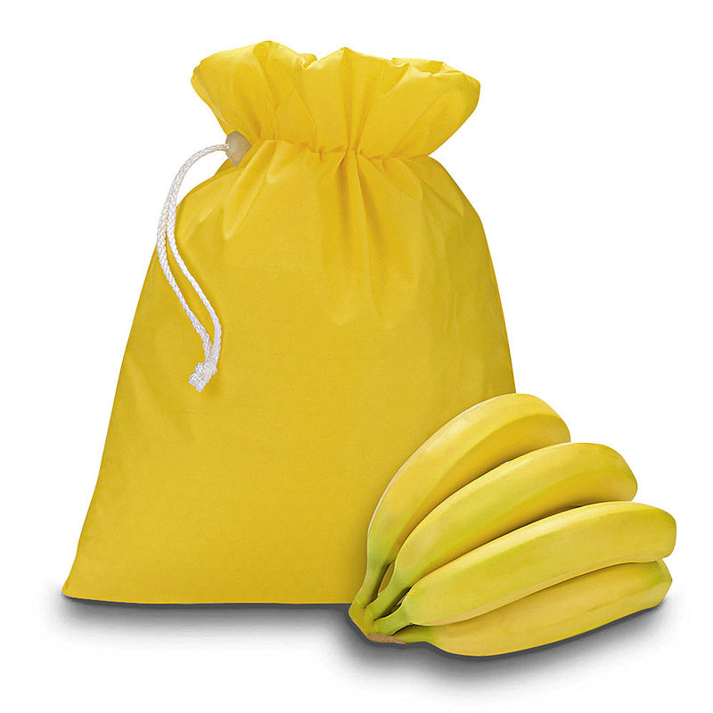 bananenbeutel bananen zwei wochen l nger frisch halten. Black Bedroom Furniture Sets. Home Design Ideas