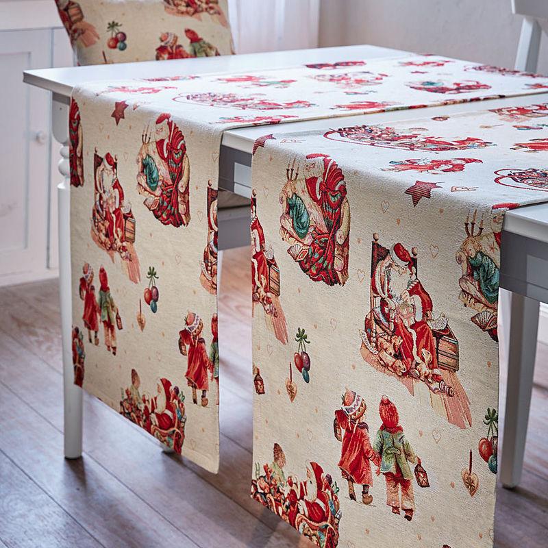 schwere gobelin tischl ufer mit nostalgischen weihnachtsmotiven hagen grote schweiz shop. Black Bedroom Furniture Sets. Home Design Ideas